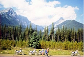 Scenic Tour - Seventy miles from nowhere in the heart of the Rockies.